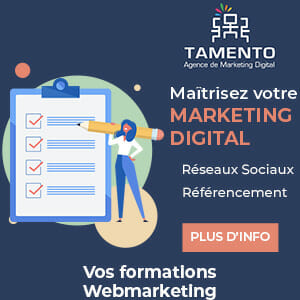Formation webmarketing Tamento